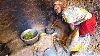 Village Food in Central Africa - RWANDAN FOOD and AMAZING DANCING in Rural Rwanda, Africa!