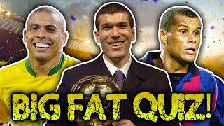 Who Is The Most Successful Ballon d'Or Winner? | Big Fat Quiz