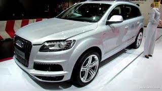 2012 Audi Q7 TDi Quattro S-Line - Exterior and Interior Walkaround - 2012 Paris Auto Show