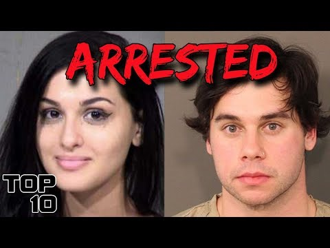 Top 10 YouTubers That Went To Jail