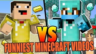 Most ENTERTAINING and FUNNY Minecraft LIVESTREAM of ALL TIME (HD)