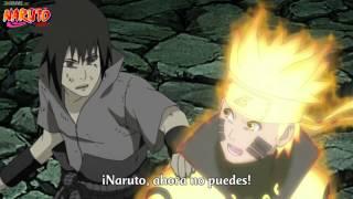 Sasuke protege al Equipo 7 -Naruto Shippuden-Cap 426 Sub Español.