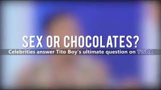 Sex or Chocolates? Compilation of TWBA Fast Talk Ultimate Question