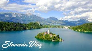 LAKE BLED - SLOVENIA - VLOG  - EUROPEAN SUMMER 2017