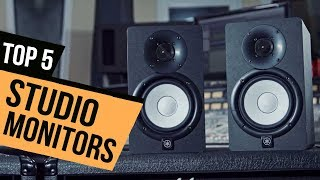 TOP 5: Studio Monitors 2018 - Must Watch Before You Buy