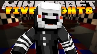 Minecraft - FIVE NIGHTS AT FREDDYS - WE GOT CAUGHT #4 (Custom Roleplay)