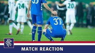 REACTION | Scott Arfield | Rapid Vienna 1-0 Rangers