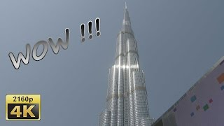 Burj Khalifa and Dubai Mall - Dubai 4K Travel Channel