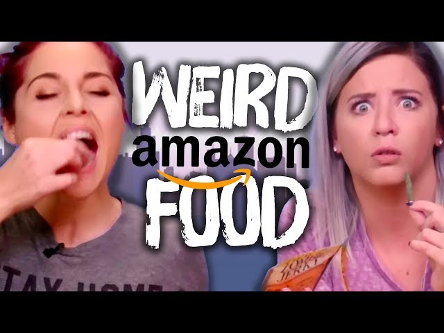 Trying Weird Foods from Amazon! (Cheat Day)