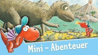 Der kleine Drache Kokosnuss bei den Dinosauriern– Mini-Abenteuer – Hörbuch