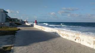 Walking around Isla Mujeres, Cancun, Quintana Roo, Mexico 4k