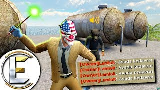 OP Wand And An Unforgivable Curse - Gmod DarkRP Life (The Annoying Wizard)