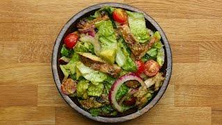 Honey-Lime Chicken And Avocado Salad