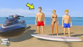 GTA 5 REAL LIFE TEEN MOD #36 SWIMMING ADVENTURES! (GTA 5 Mods)