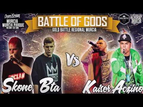 ACZINO KAISER VS SKONE BTA 2VS2 VIDEO OFICIAL GOLD BATTLE MURCIA