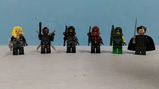 Lego - Green Arrow - Knockoff Minifigures review