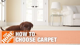 How To Choose Carpet For Your Home- The Home Depot