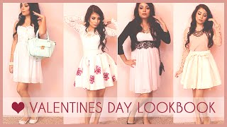 Valentines Day Outfits ROMANTIC DATE lookbook Collab with Manda31409| Thanias beauty, Juicydaily
