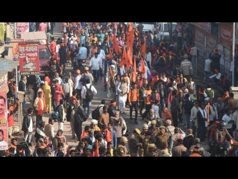 Xxx Mp4 Security Tightened In Ayodhya Ahead Of Shiv Sena VHP Rallies 3gp Sex