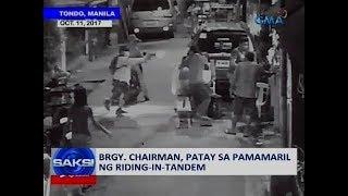 Saksi: Brgy. chairman, patay sa pamamaril ng riding-in-tandem