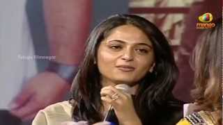 Nagarjuna Greeku Veerudu Audio Launch - Anushka & Priyamani Funny Interview - Nayantara