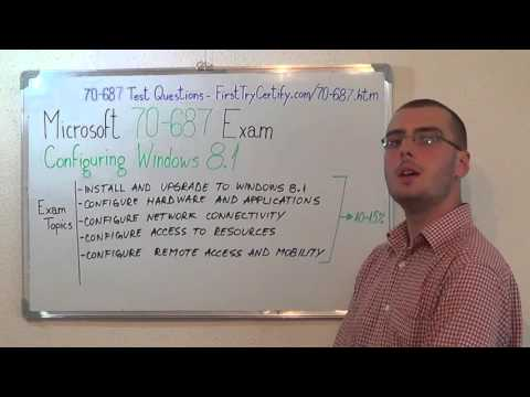 70-687 – Configuring Exam Windows 8 Test Questions