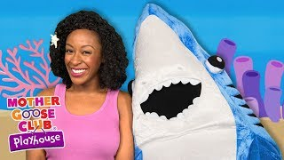 Baby Shark and Mermaid Water Song | Baby Songs + Nursery Rhymes songs | Mother Goose Club Playhouse