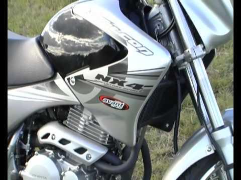 Test Honda NX4 Falcon