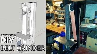 Сheap DIY belt grinder (without welding)