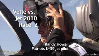 Corvette ZR1 vs Patriots L39 Jet - epic feature