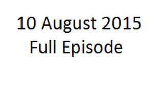 Yeh Hai Mohabbatein 10 August, 2015 Full Episode HD