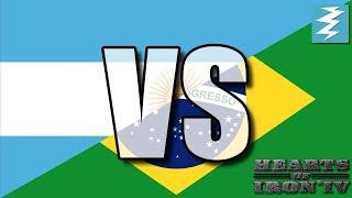 Argentina Vs Brazil Ep11 - Hearts of Iron 4 (HOI4)