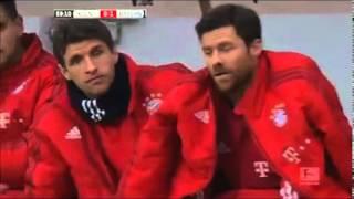 Thomas Muller joke with Xabi Alonso