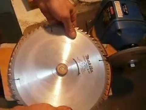 Заточка пильных дисков своими руками 24