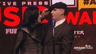 Twiggy Ramirez & Marilyn Manson @ Alternative Press Music Awards