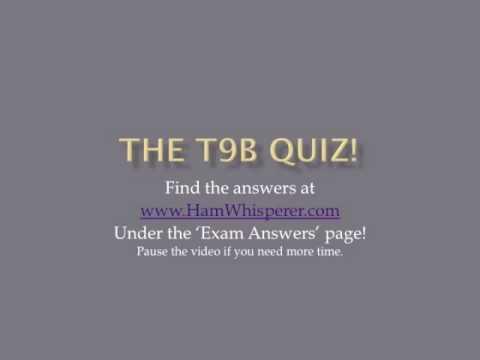 Lesson 32 Technician Class Exam T9B Second Edition