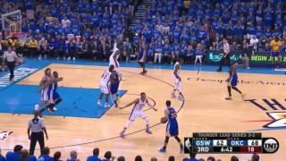Golden State Warriors vs Oklahoma City Thunder. Game #6. PlayOffs NBA 2016