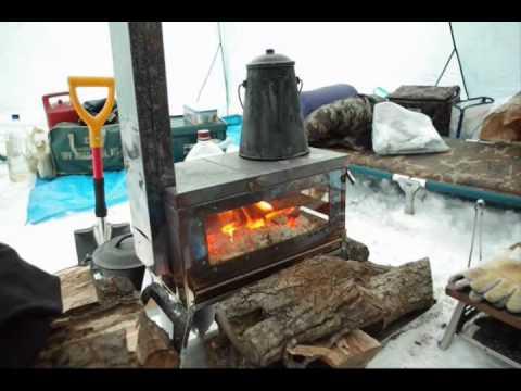 笑`� �の薪ストーブmade in Japan「焚き火の箱」wood stove for camping