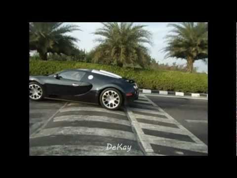 bugatti going over speed bumps