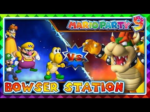 Mario Party 9 - Bowser Station! (4 Player)