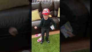 Cooper Lewis dancing