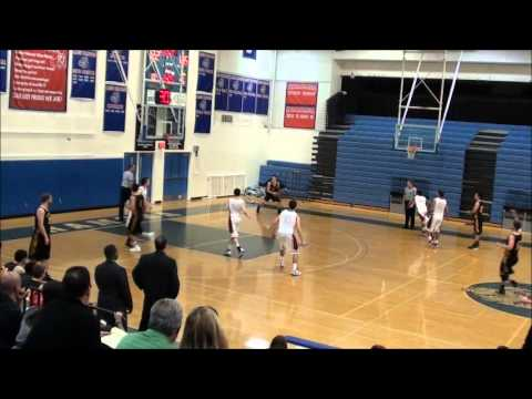 Jordan Paris Dunk Multnomah University Basketball