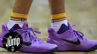Lonzo Ball Wearing Nike Shoes Is A Big Deal | The Jump | ESPN