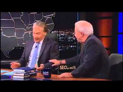 Bill Maher vs Evangelical Minister over God and the Bible Real Time July 26 2013
