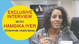 Chammak Challo Singer Hamsika Iyer Latest Interview | Singonline | 20 March
