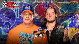 WWE 2K17 - SUMMER SLAM 2017: John Cena vs Baron Corbin