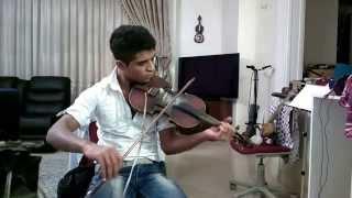 ویولون توسط  کیانوش شهنازی 1393 -Talented Iranian musician