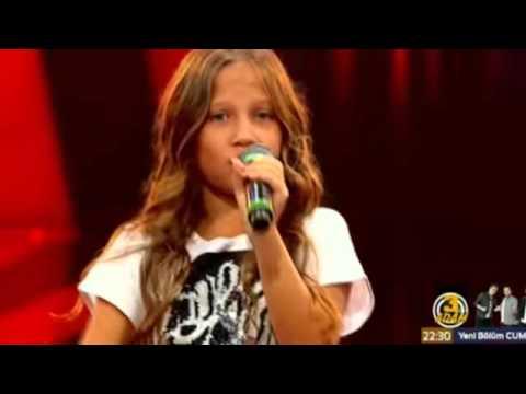 Ayça Anlayan Rengarenk O Ses Çocuklar 2 Sezon YouTube
