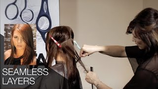 Creating Seamless Layers with the Feather Styling Razor