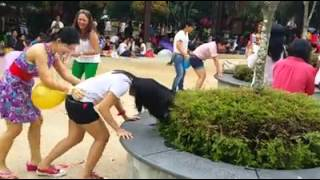 Very funny video .girls playing in doggy style